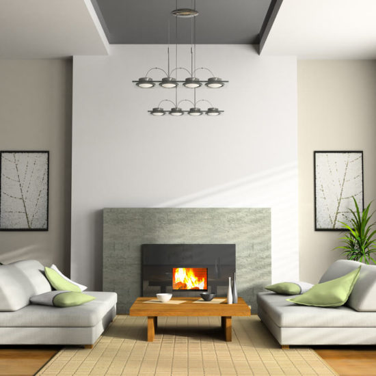 What Render to Use in a Fireplace